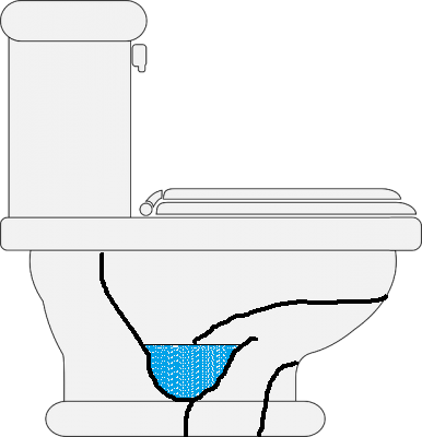 洗い落とし式