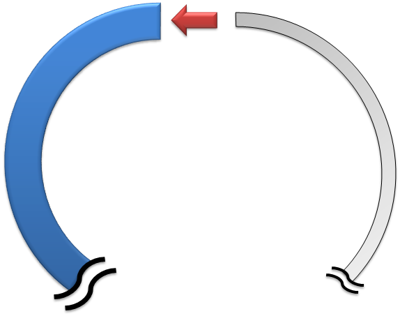 ポリ管の通管 巻きグセ