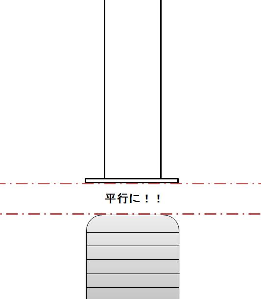 ヘリューズ管と止水栓